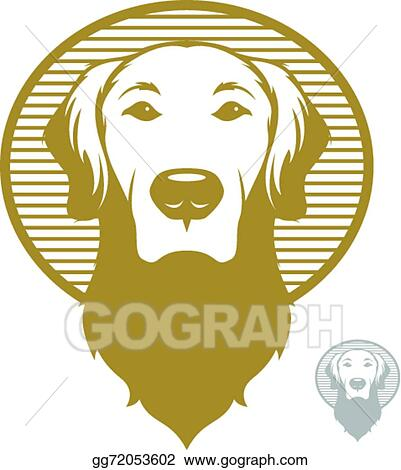 Eps Illustration Dog Face Icon Vector Clipart Gg72053602 Gograph