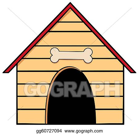 doghouse clip art royalty free gograph rh gograph com dog house clip art free dog in doghouse clipart