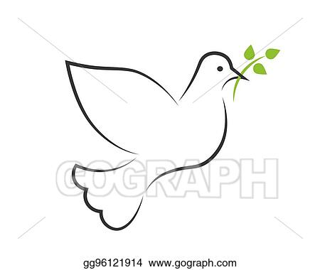 Vector Stock Dove Silhouette Clipart Illustration Gg96121914 Gograph 501x352 dove silhouette vector clipart download dove silhouette silhouette. gograph