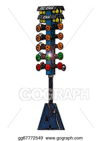 Stock illustration drag racing christmas tree clip art gg67772549 drag racing christmas tree aloadofball Image collections