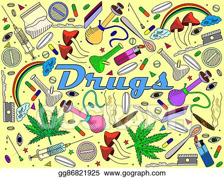 clip art vector drugs vector illustration stock eps gg86821925 gograph https www gograph com clipart license summary gg86821925