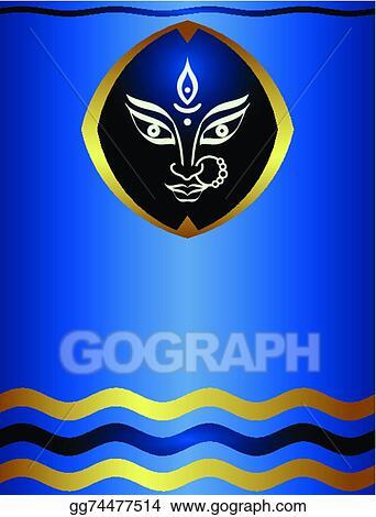 EPS Illustration - Durga goddess of power  Vector Clipart gg74477514