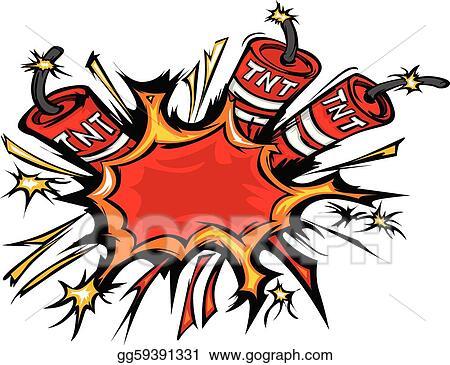 vector stock dynamite explosion cartoon vector i stock clip art rh gograph com dynamite pictures clip art free clipart dynamite