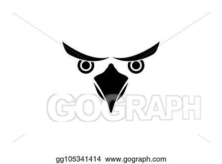 Vector Stock - Eagle bird logo template  Stock Clip Art