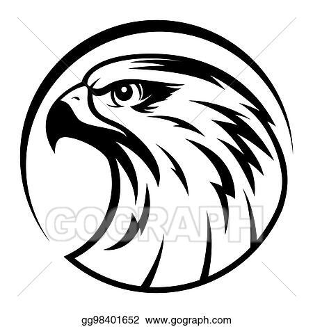 Hawk Mascot Clip Art