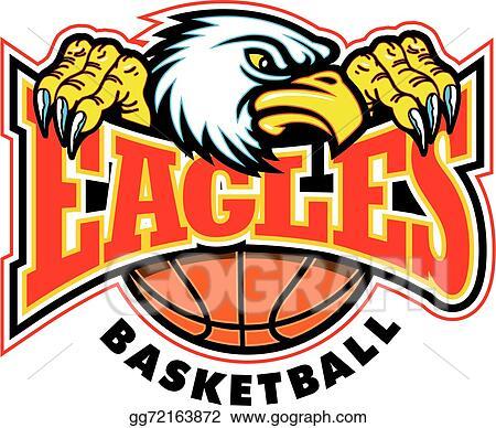 Vector Art Eagles Basketball Design Eps Clipart Gg72163872 Gograph