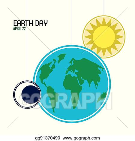 Vector stock earth day clipart illustration gg91370490 gograph earth day ccuart