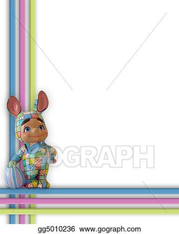 Easter Bunny Border Frame