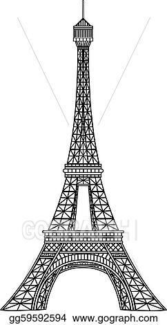 Clip art vector eiffel tower vector illustration stock eps clip art vector eiffel tower vector illustration stock eps gg59592594 thecheapjerseys Image collections
