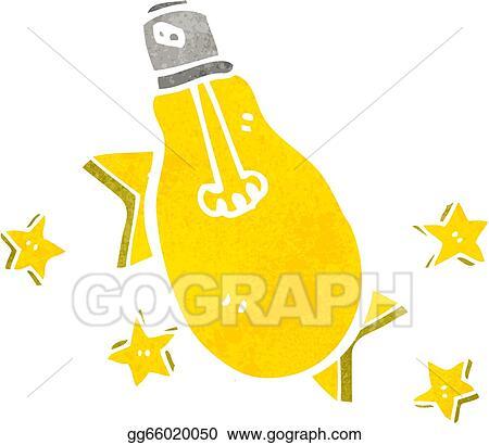 Vector illustration electric light bulb symbol stock clip art electric light bulb symbol publicscrutiny Images