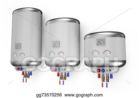 Stock Illustration - Electric white boiler, water heater 2. Clipart ...