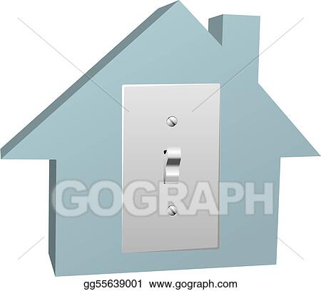 Superb Electricity House Switch On Electric Light At Home