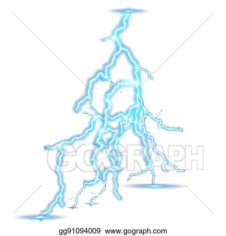 Eps Vector Electricity Lighting Effect Eps 10 Stock Clipart Illustration Gg91094009 Gograph