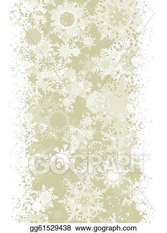 Snowflakes elegant. Vector stock christmas with