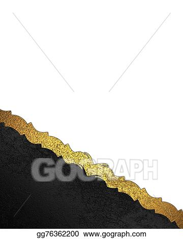 drawings element design of white background with black nameplate