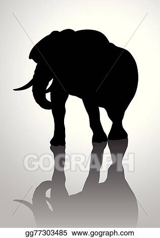 Vector Stock - Elephant  Clipart Illustration gg77303485