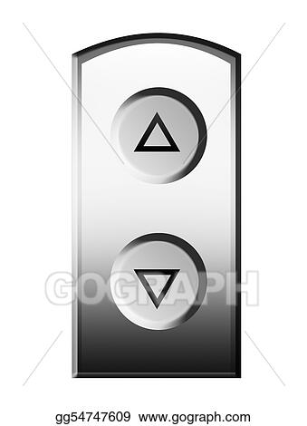 stock illustration elevator buttons clipart illustrations rh gograph com
