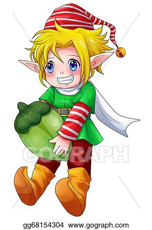 drawings elf boy stock illustration gg68154304 gograph