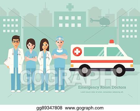 Emergency Room Doctors And Nurse