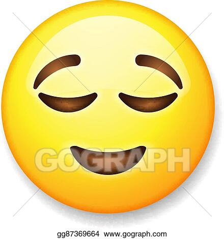 Emoji Relieved Clip Art Unlimited Clipart Design