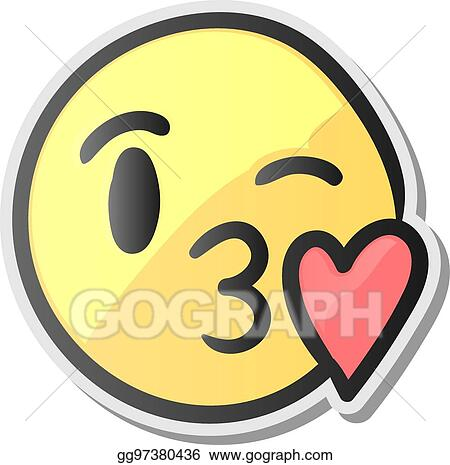 Smiley zeichen herz kuss 😘 Kuss