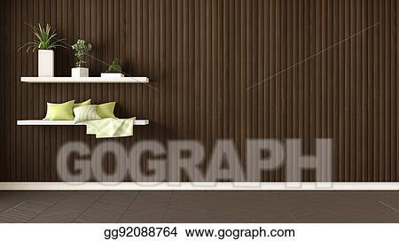 Interior Wall Design Clipart