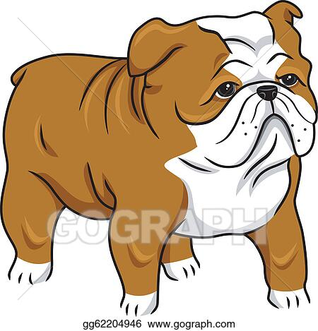 English Bulldog Clip Art Royalty Free Gograph