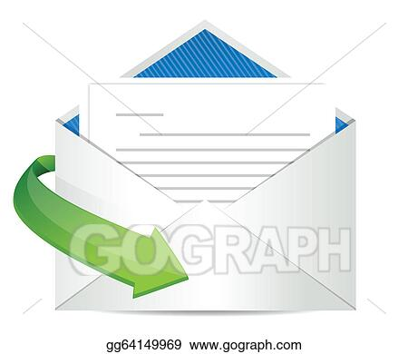 Vector Stock Envelope Letter Clipart Illustration Gg64149969