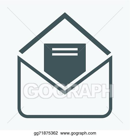 Vector Stock Envelope Letter Clipart Illustration Gg71875362