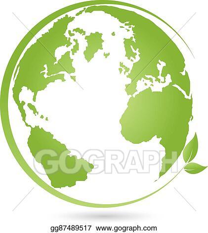 Globus Weltkugel Karte.Vector Art Erde Globus Weltkugel Logo Eps Clipart Gg87489517