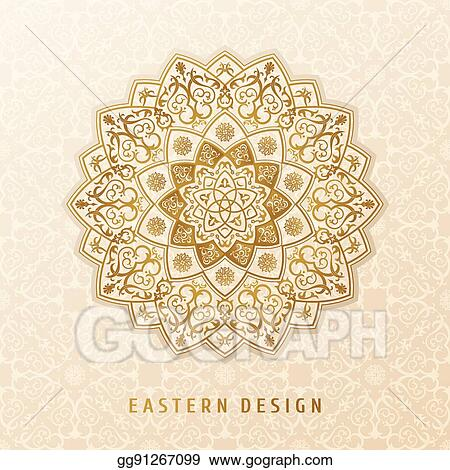 eps vector ethnic vector pattern mandala design for invitations