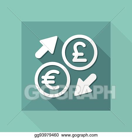 Euro Sterling Foreign Currency Exchange Icon