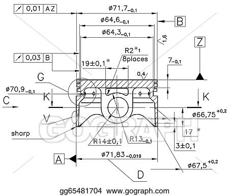 Drawing example of industry document blueprint clipart drawing example of industry document blueprint malvernweather Choice Image