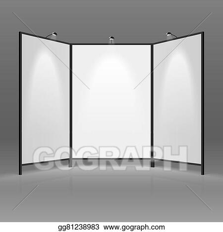Exhibition Stand Art : Clip art vector exhibition stand stock eps gg gograph
