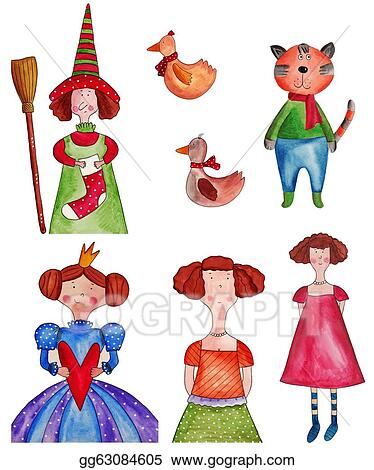 drawing fairy tale characters clipart drawing gg63084605 gograph rh gograph com