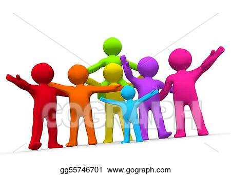 drawing family friends clipart drawing gg55746701 gograph rh gograph com family and friends clip art free family and friends clip art free