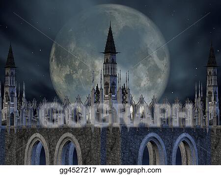 Fantasy Medieval Gothic Archway Art
