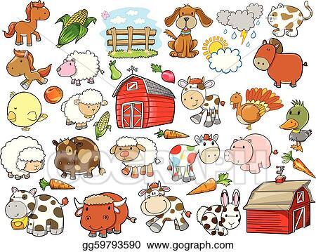 Farm Animal Clip Art Royalty Free Gograph