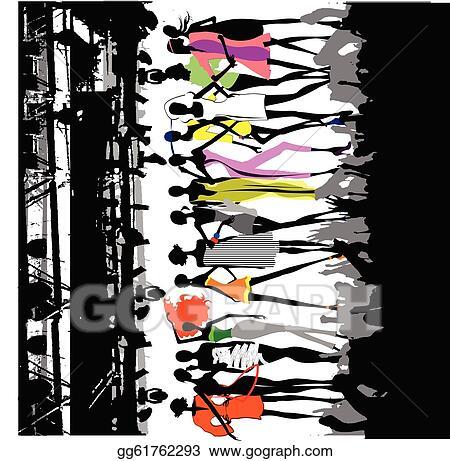 Fashion Show Clip Art
