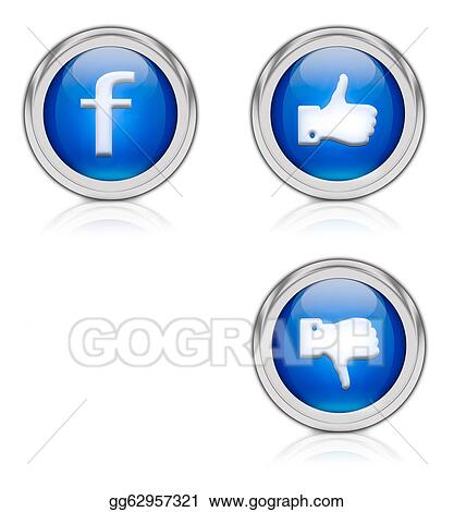 Clip Art Fb Stock Illustration Gg62957321 Gograph