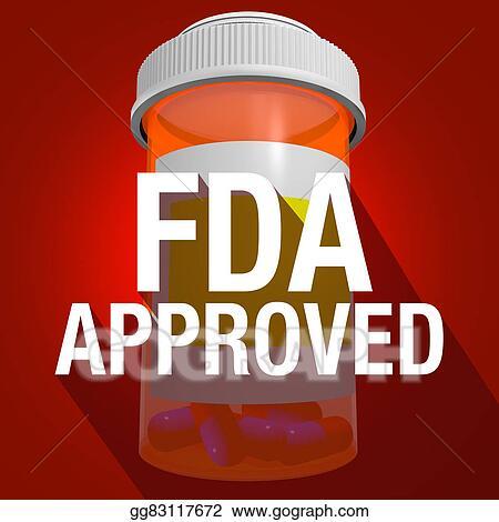 Clipart - Fda approved federal food drug administration