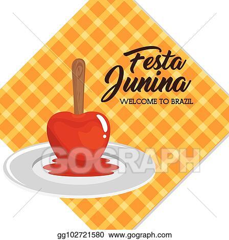 Vektor Illustration Festa Junina Design Eps Clipart