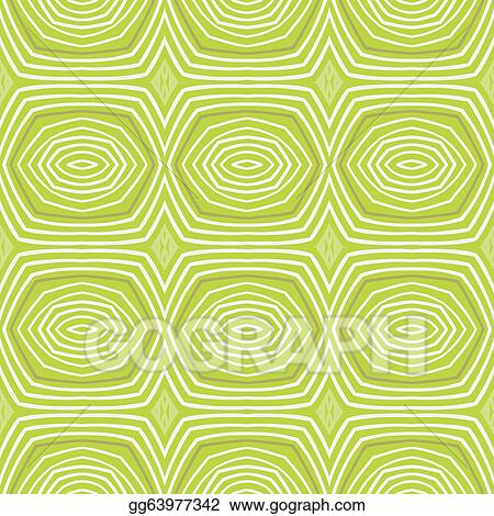 Vector Illustration Fifties Vintage Wallpaper Seamless