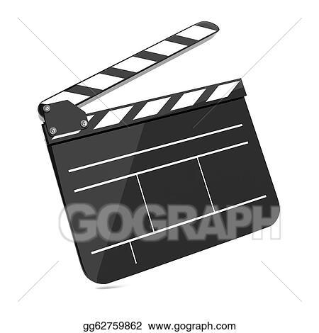 clip art film clap board cinema stock illustration gg62759862