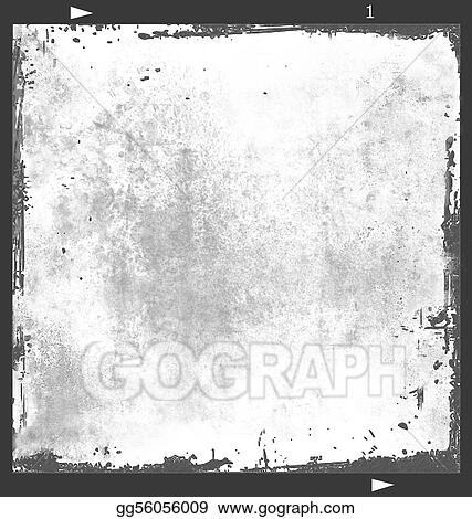 Stock Illustration Film Frame 6x6 With Texture2 Clipart Drawing