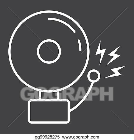 Icons Png Vector Free - Siren Alarm Symbol , Free Transparent Clipart -  ClipartKey