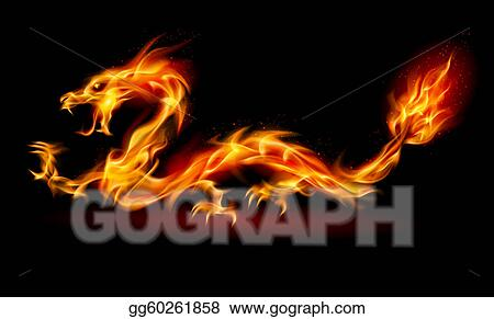drawing fire dragon clipart drawing gg60261858 gograph