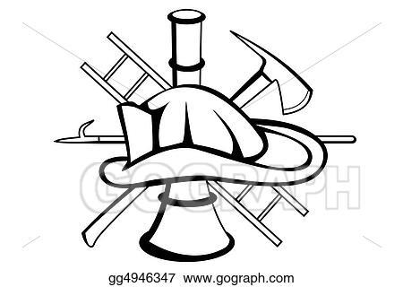 Clip Art Firefighter Symbol Stock Illustration Gg4946347 Gograph