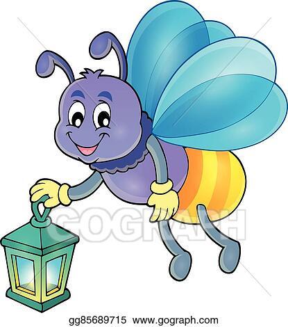 vector art firefly with lantern theme image 1 eps clipart rh gograph com firefly clip art black firefly clip art transparent