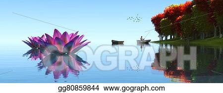 Drawing Fishing Boat Clipart Drawing Gg80859844 Gograph
